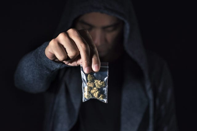 Police Clamp Down On Black Market Cannabis Across North America