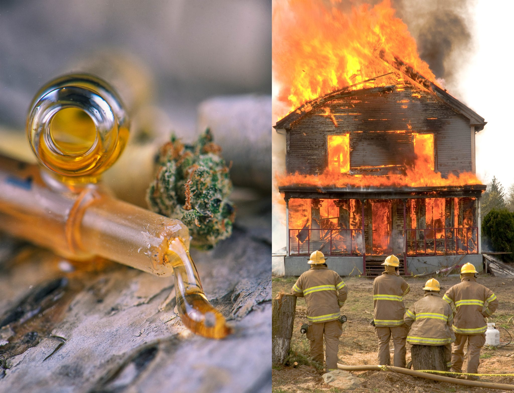 The extraction process for cannabis hash oil using butane is dangerous in the U.S. and explosions are on the rise in underground operations.