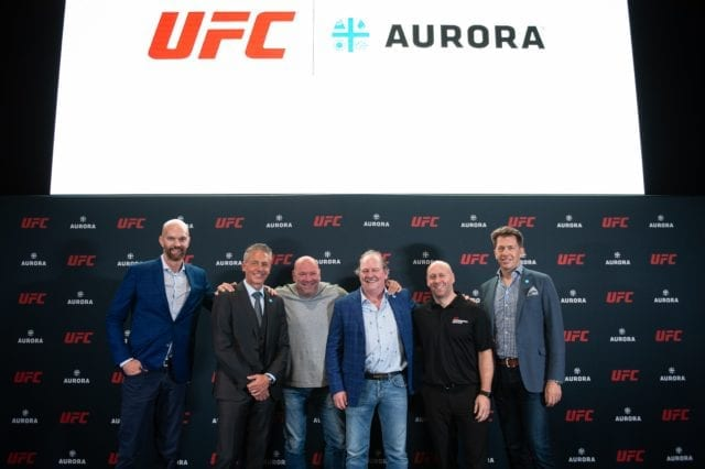Aurora Cannabis Jumps In The Octagon With UFC To Study CBD On Fighters
