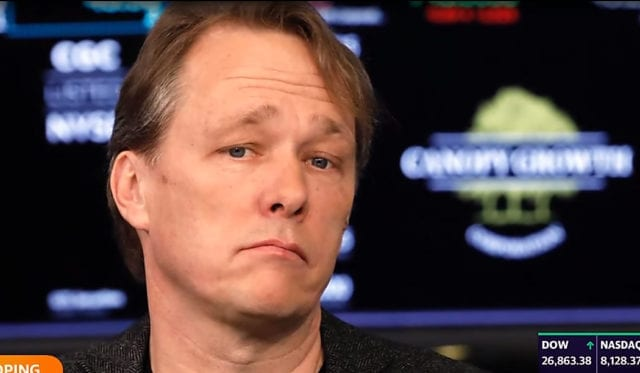 Canopy Growth Corp. surprised the market Wednesday with news that co-chief executive Bruce Linton is stepping down from the company he helped create.