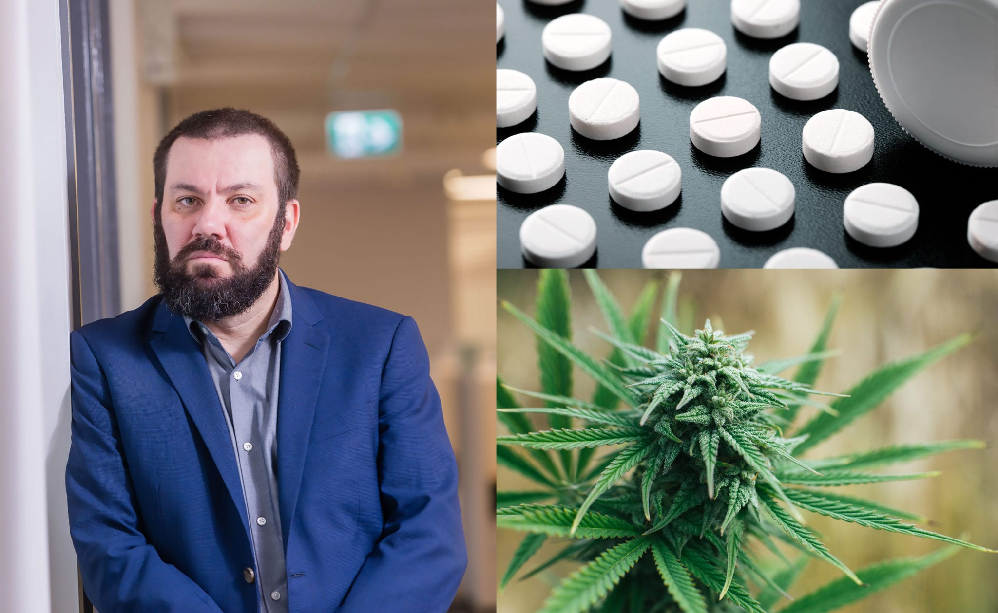 Pot Professor Studies Cannabis for Opioid Addiction as Major Drugmakers Face Lawsuits