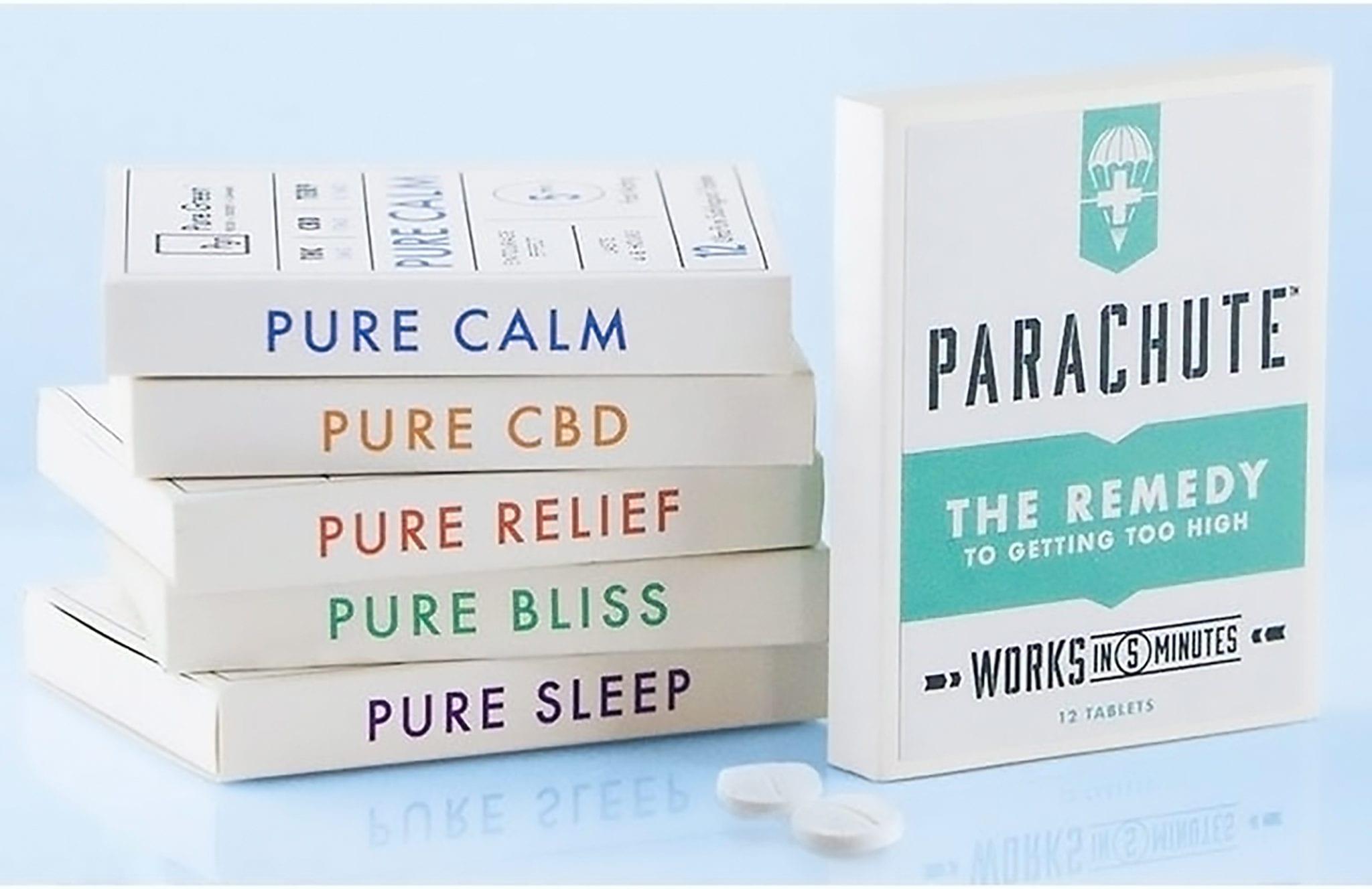 CBD-Based 'Parachute Pill' Promises to Bring Down a Cannabis High