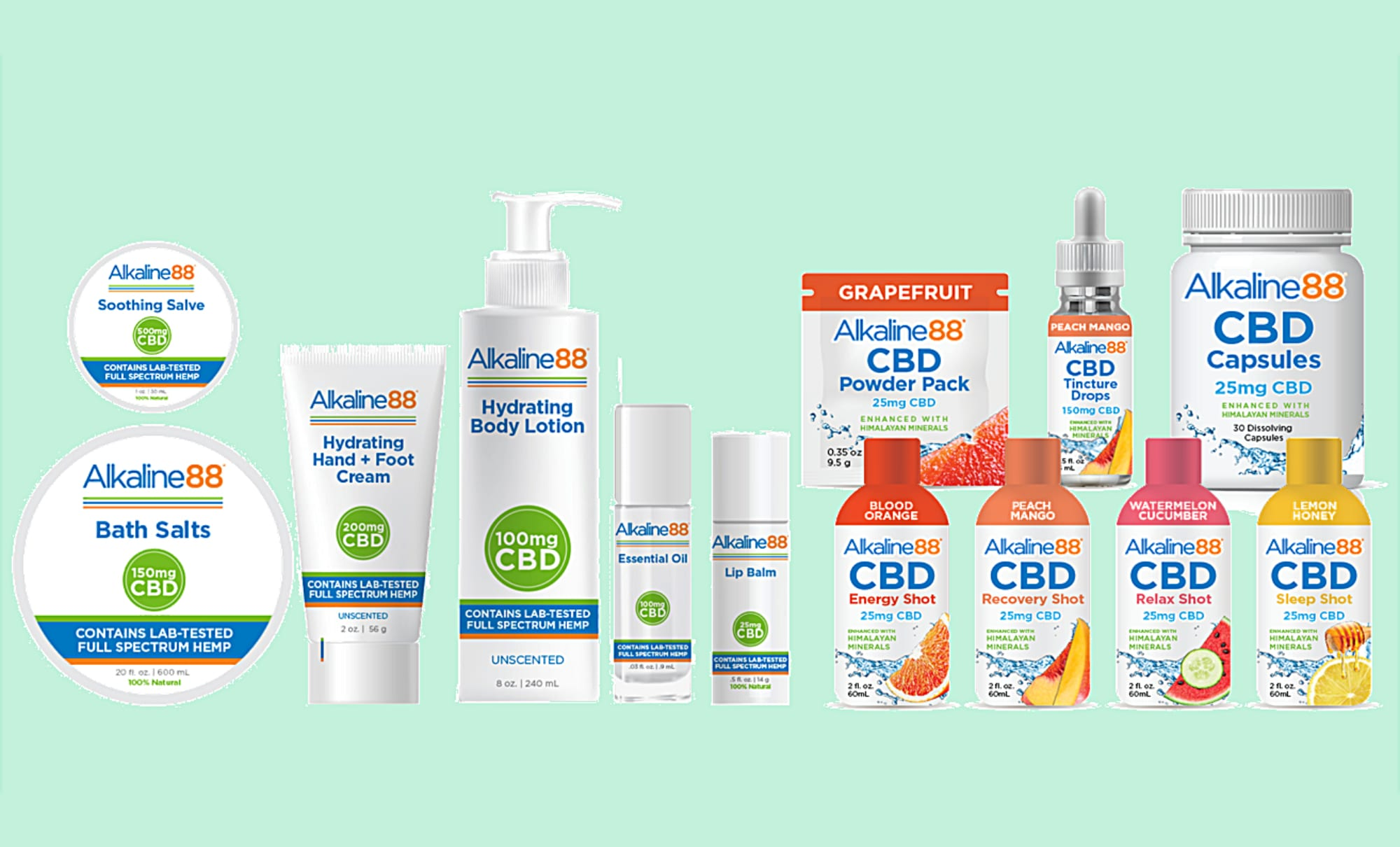 Alkaline Water Gets Topical: Company Behind Alkaline88 Brand Extends CBD Product Line