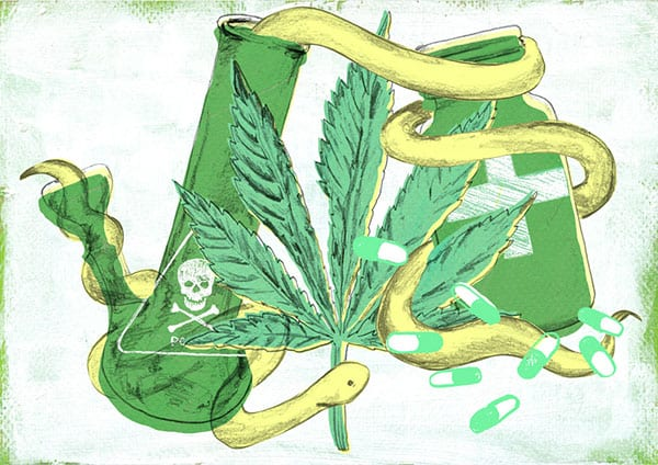 Can cannabis … help reduce heroin use?