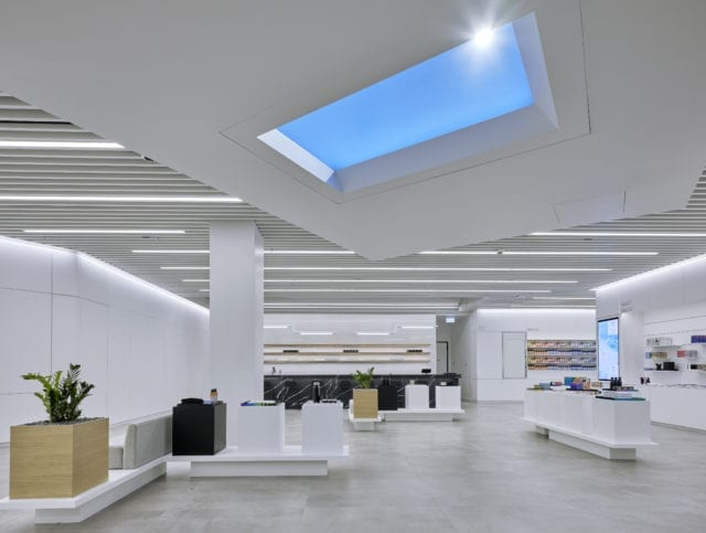 Take a look inside Aurora's 'experimental' new flagship store