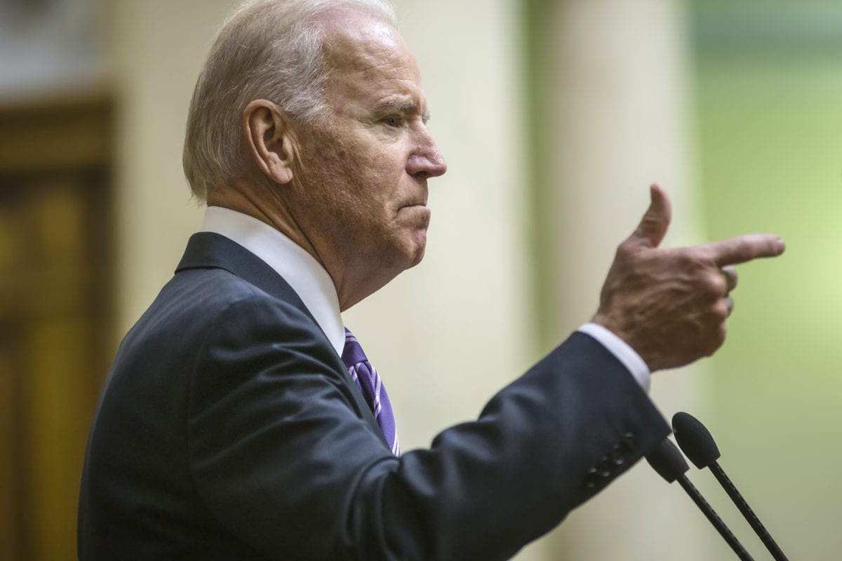 US Presidential Hopeful Joe Biden Calls Cannabis a 'Gateway Drug'