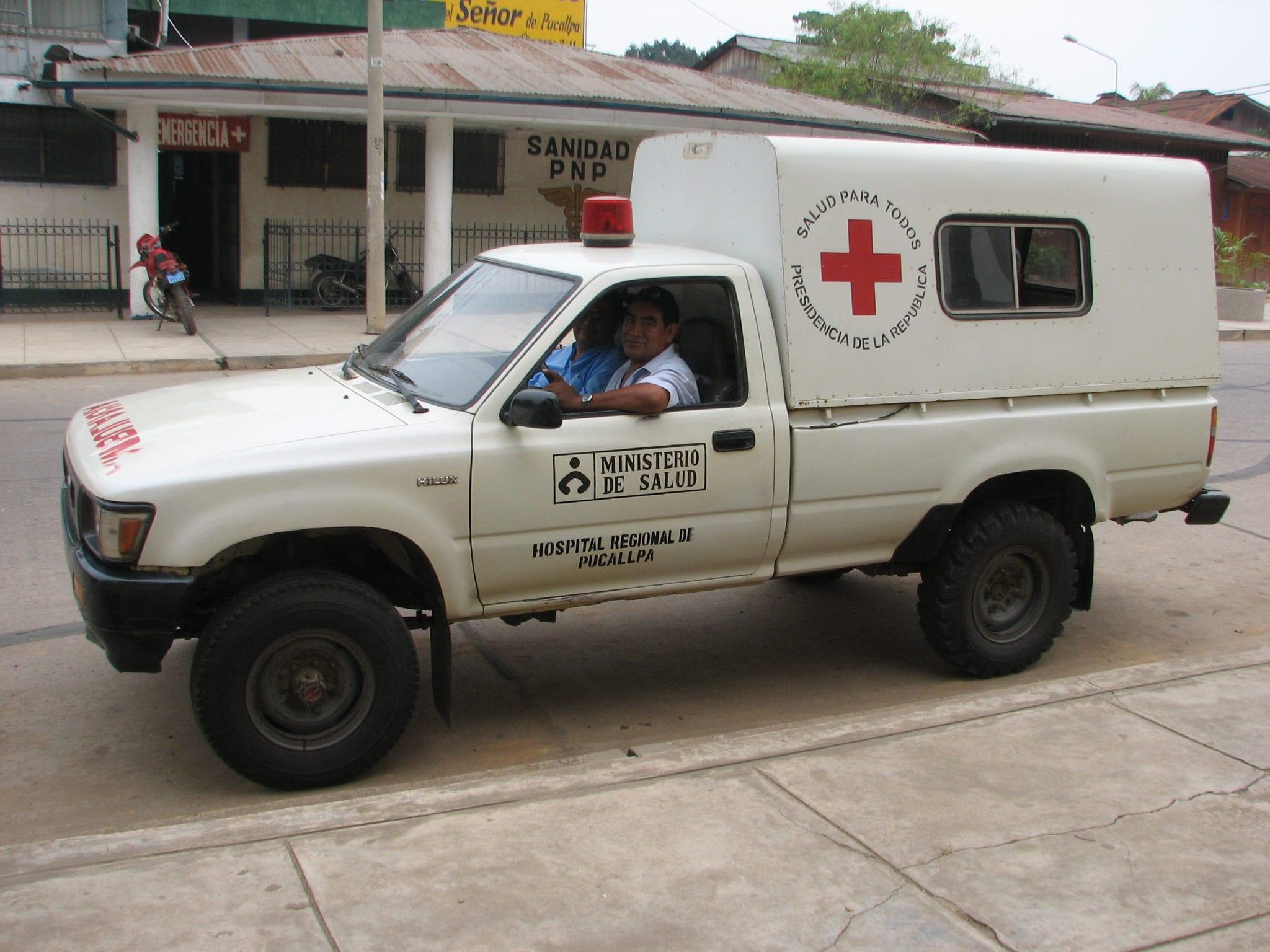 Ministry of Health Ambulance - Peru medical cannabis