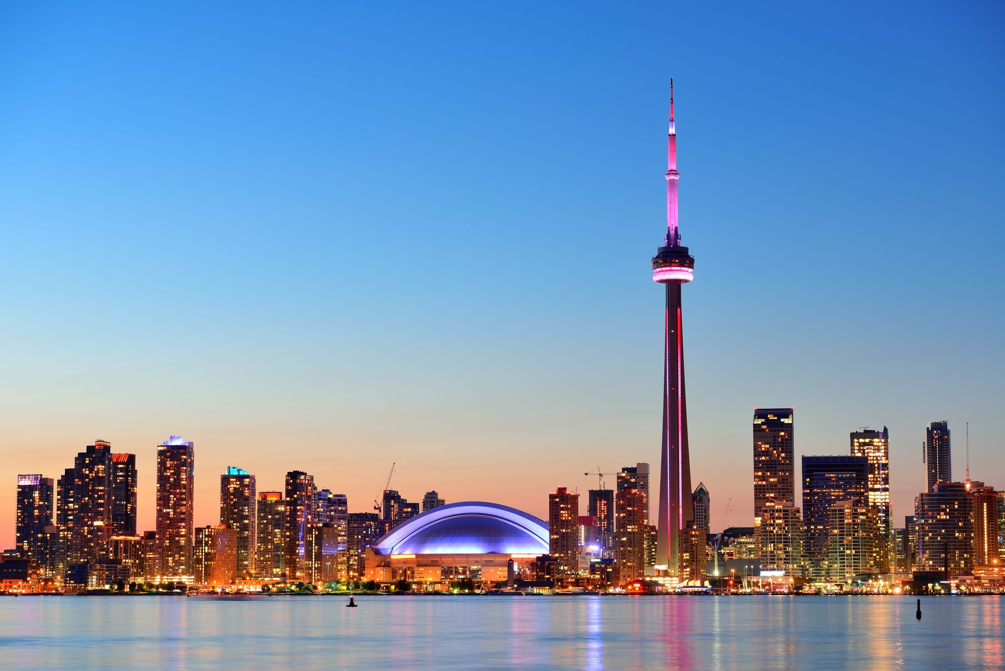 Toronto skyline - Canada's Neverending Weed Story - Ontarians unhappy with legal weed survey shows
