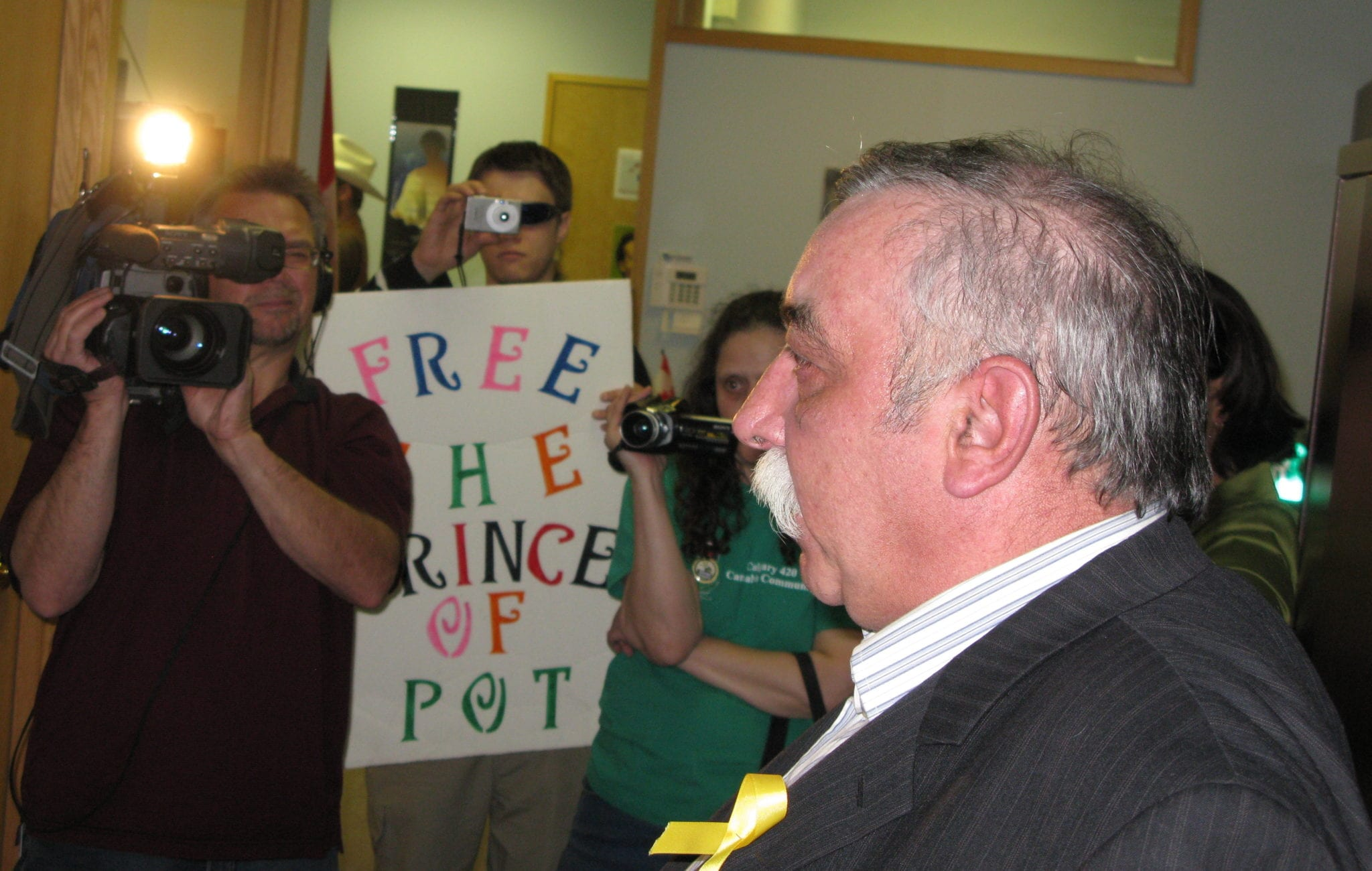 Old guard cannabis activists rally to support one of their own