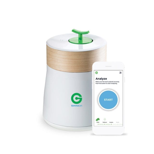 GemmaCert tech tests if weed is cannabis or legal US hemp in minutes