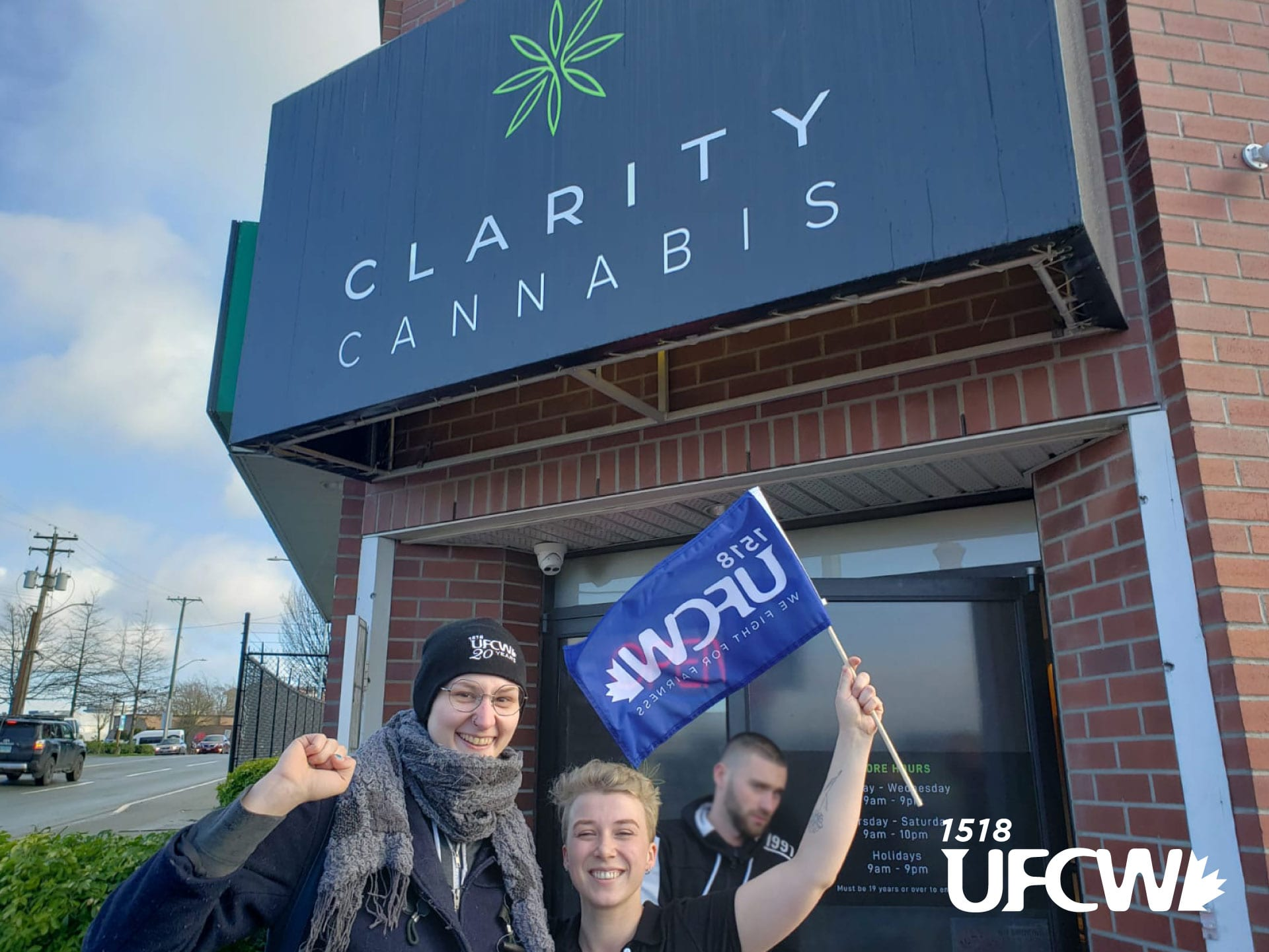 Victoria cannabis employees first to unionize in Canada