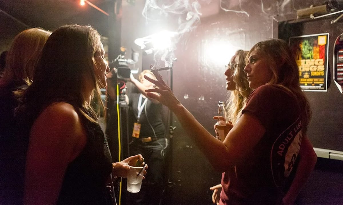 Nevada allows weed consumption lounges