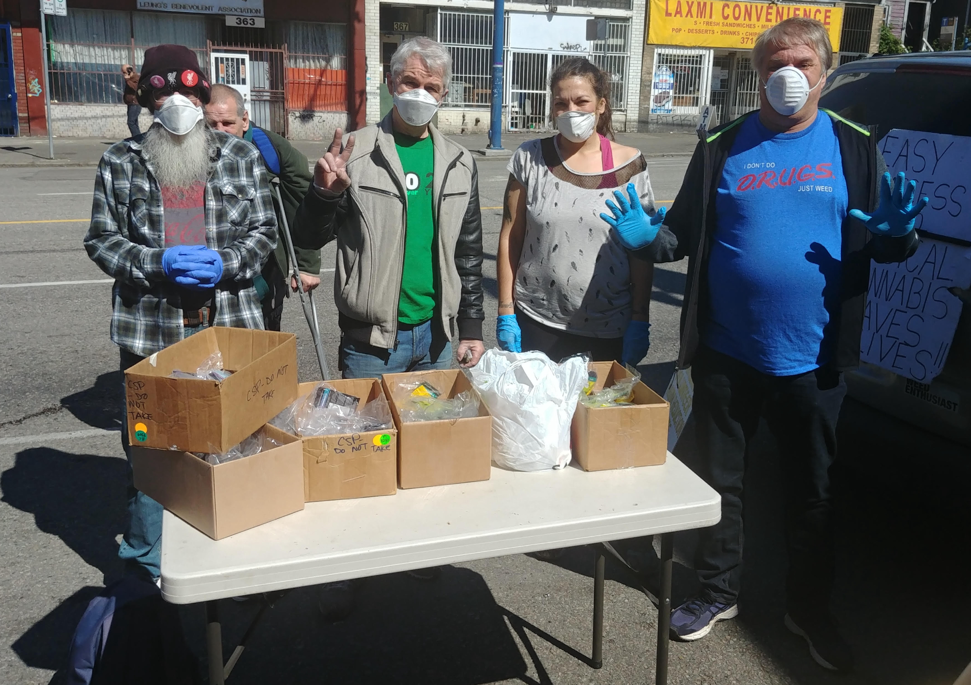 DTES cannabis charity deemed essential service during COVID-19 pandemic, not overdose crisis