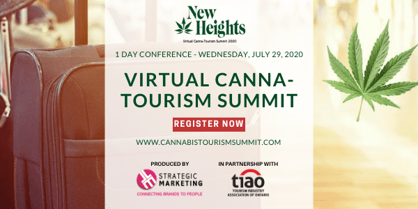 Canna-tourism summit poster New Heights