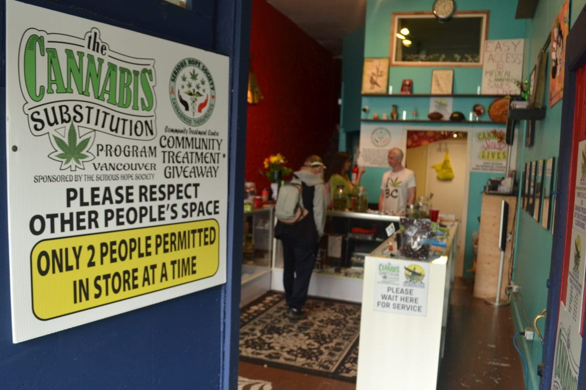 Illicit 'life-saving' Vancouver dispensary at risk of shutdown