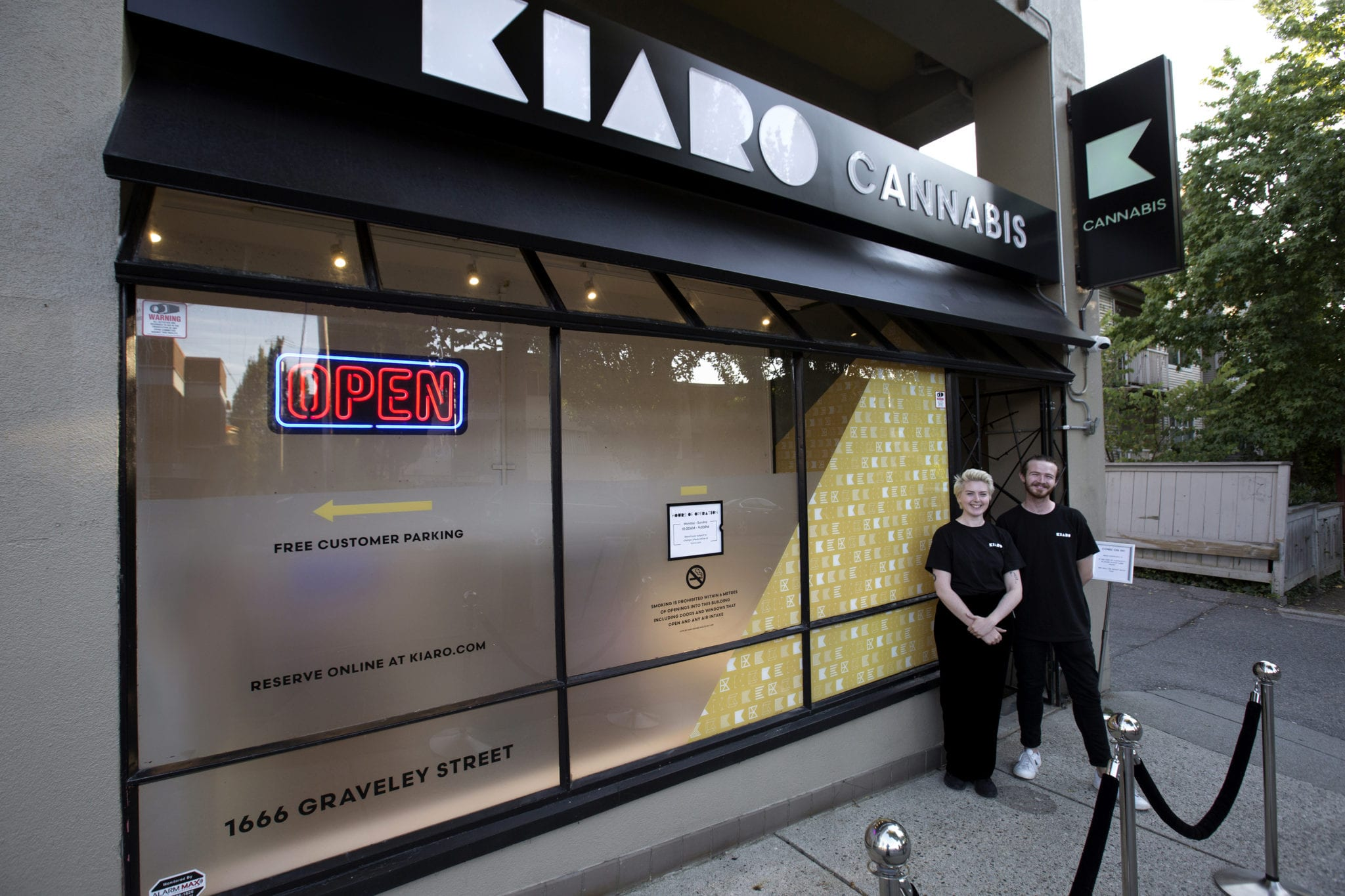 Kiaro celebrates its new Commercial Drive store this BC Day - exterior