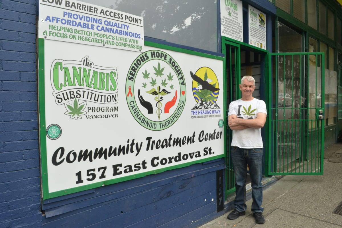 Vancouver cannabis harm reduction project finds a home