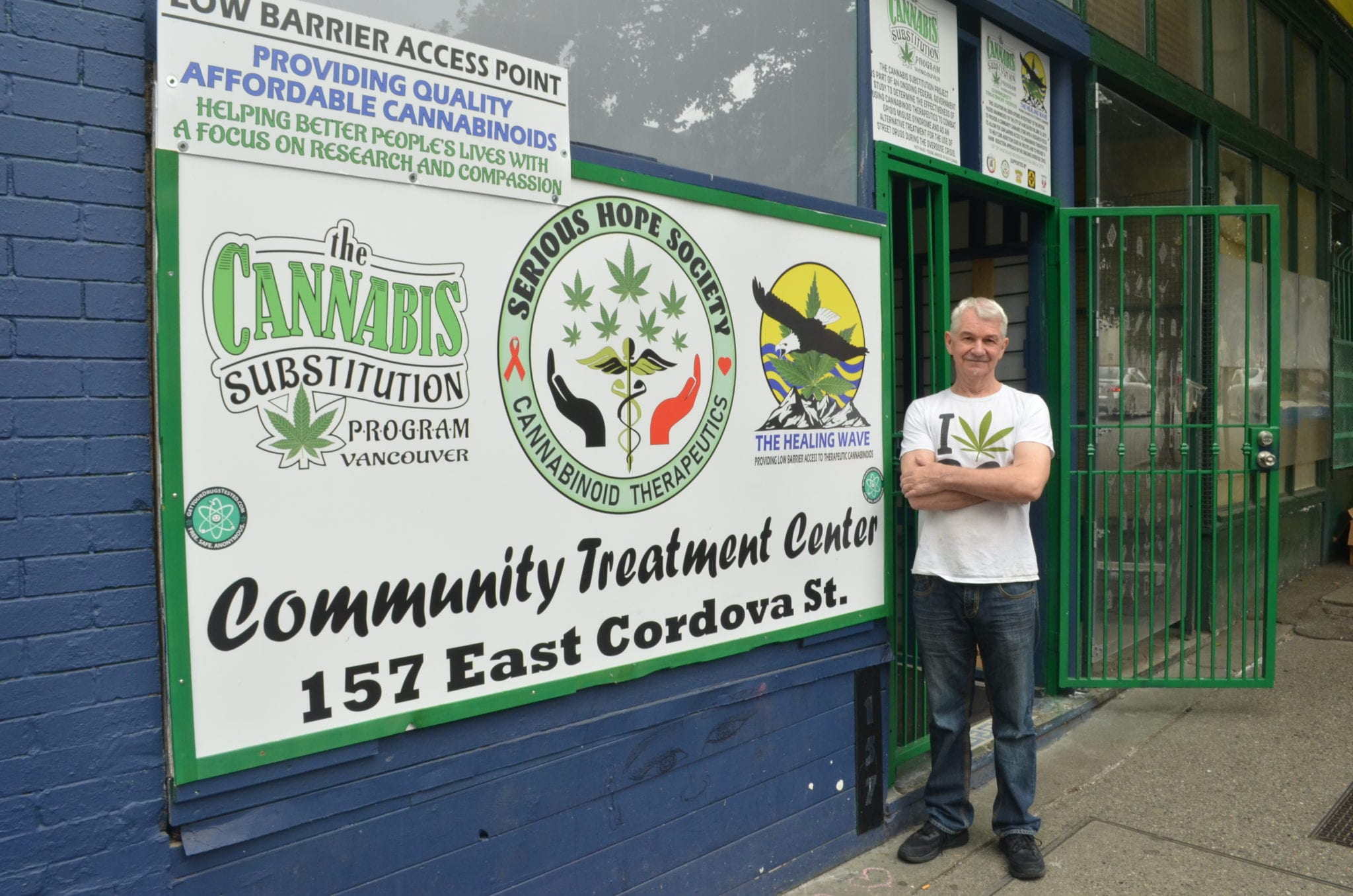 Vancouver illicit 'life saving' dispensary at risk of being shut down