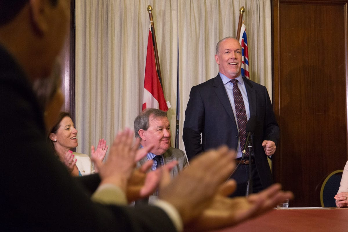 NDP doles out pre-election positivity to its BC buds