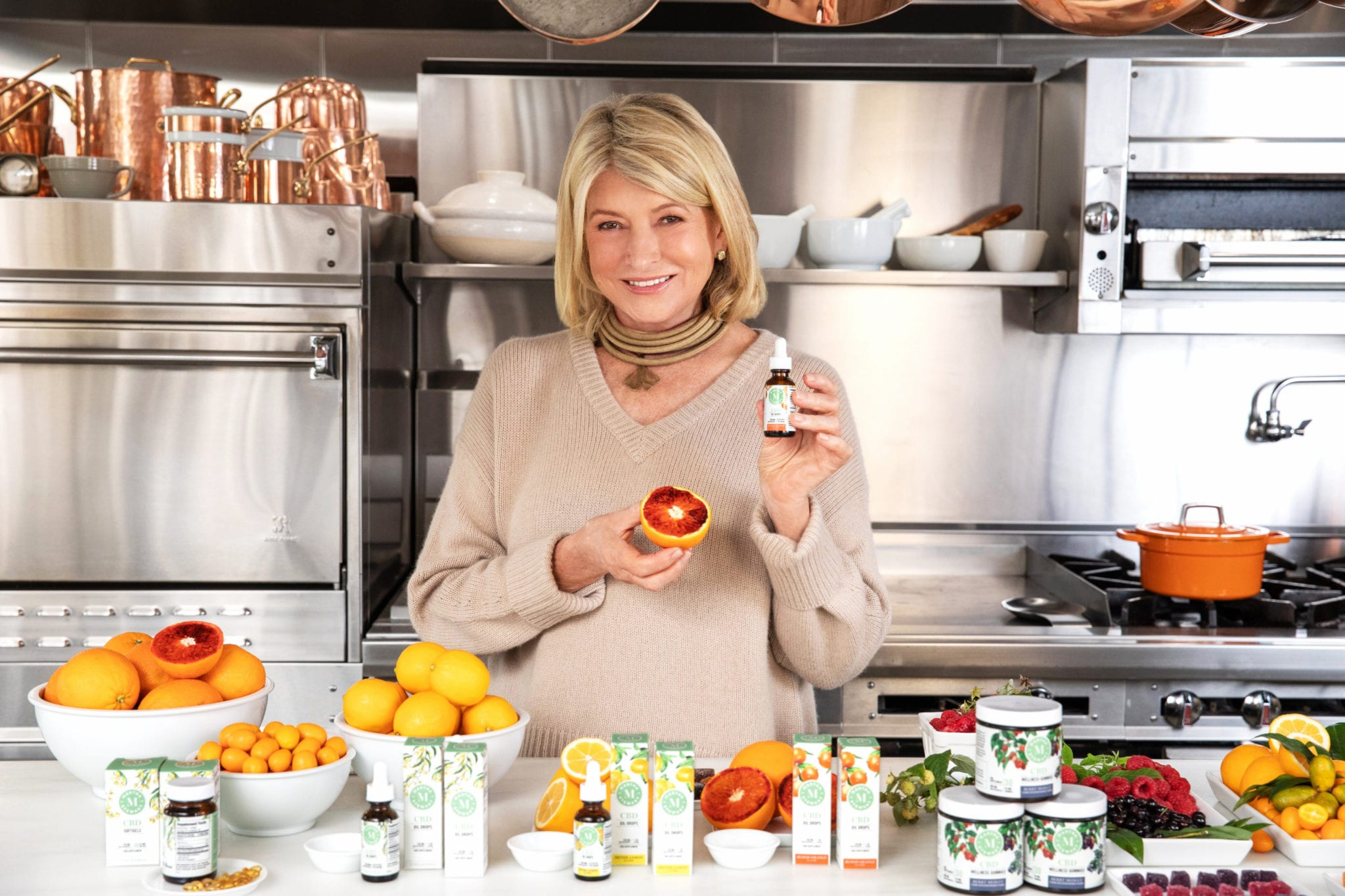 Canopy launches Martha Stewart CBD line in cluttered market