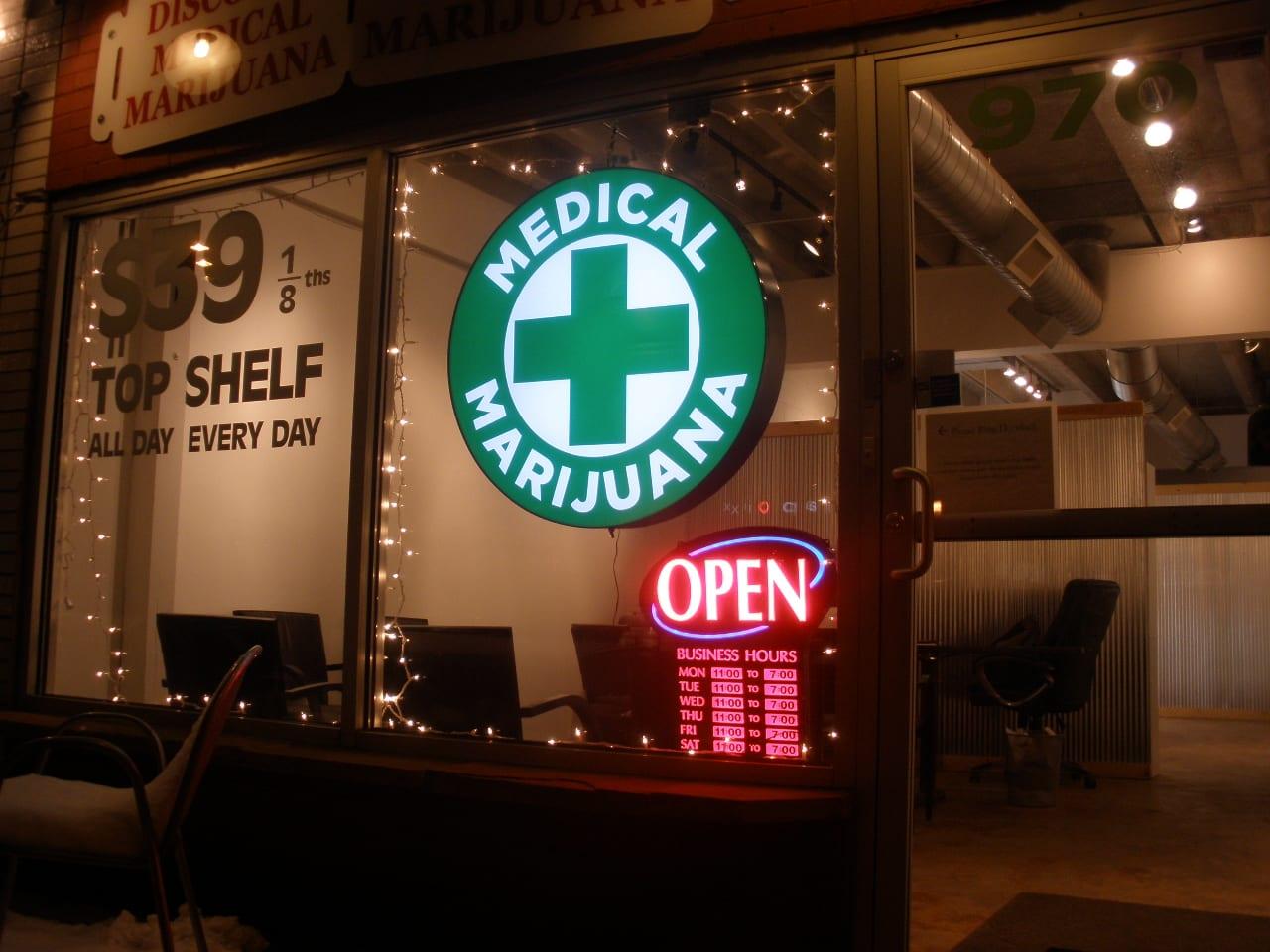 Medical cannabis dispensary in Colorado