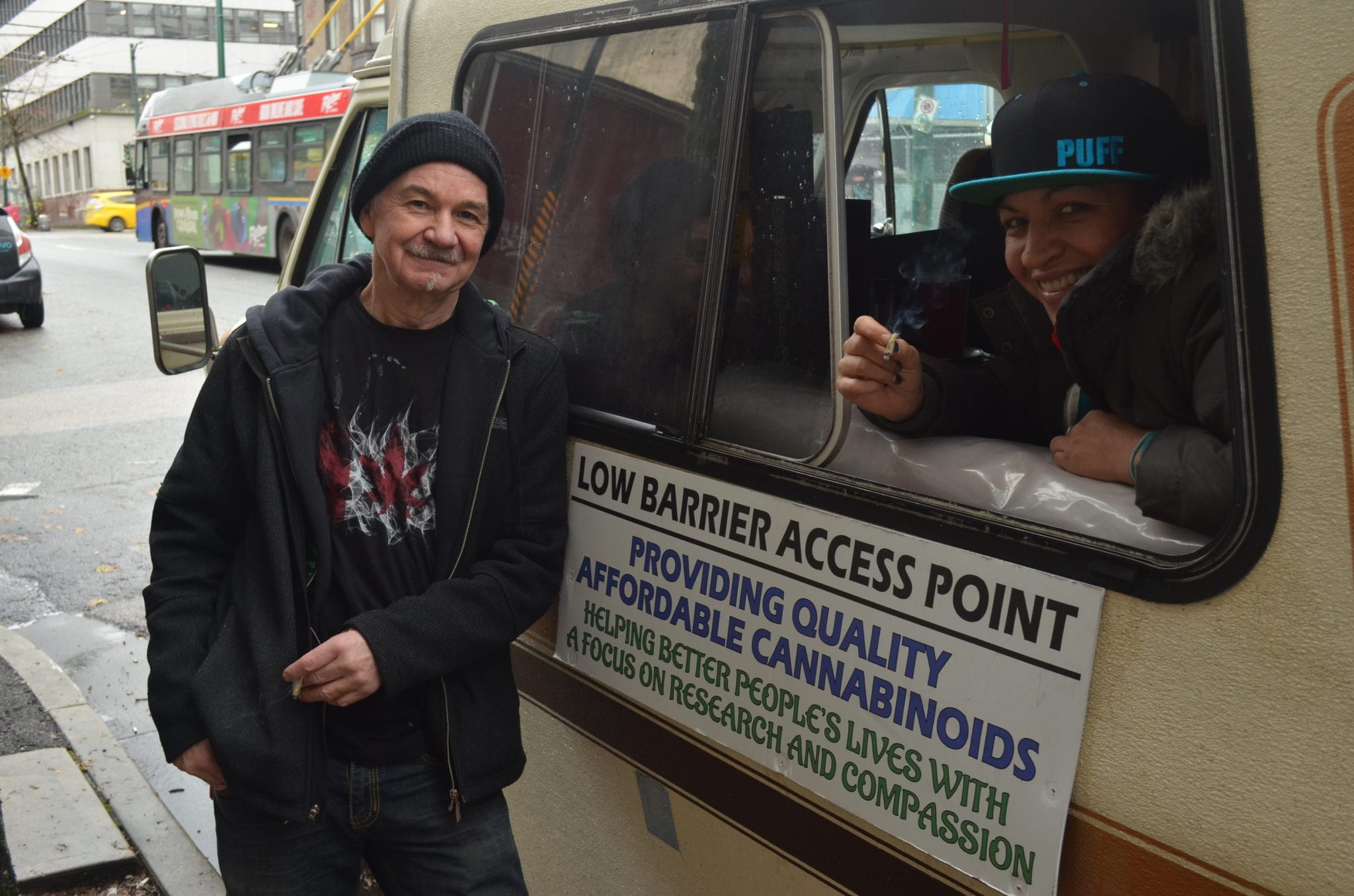 Vancouver cannabis harm reduction project takes to the streets