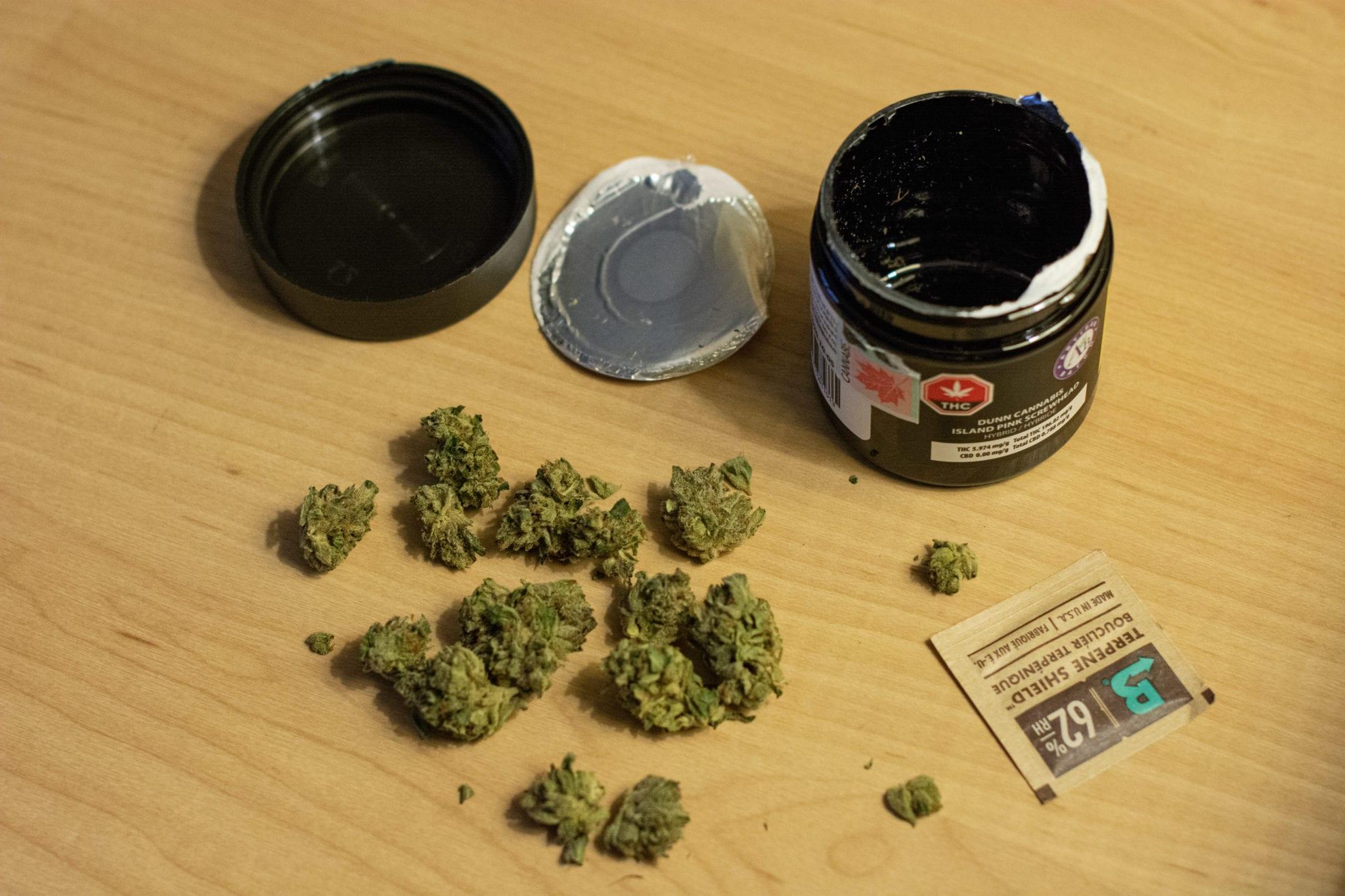 Dunn Cannabis Pink Island Screwhead