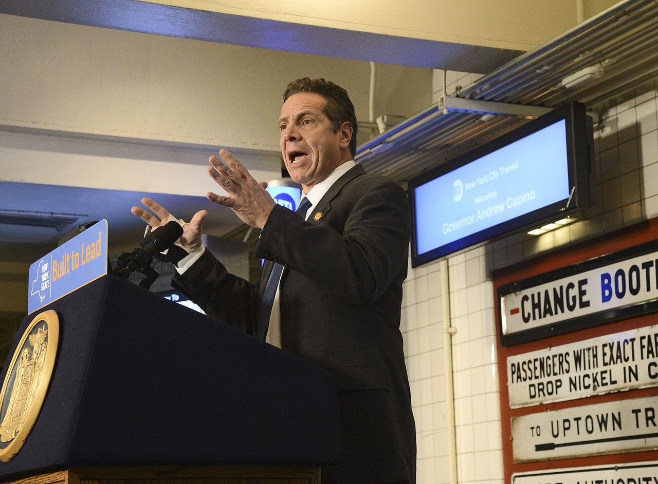 The cannabis policy pivot of Gov. Andrew Cuomo - MTA speech
