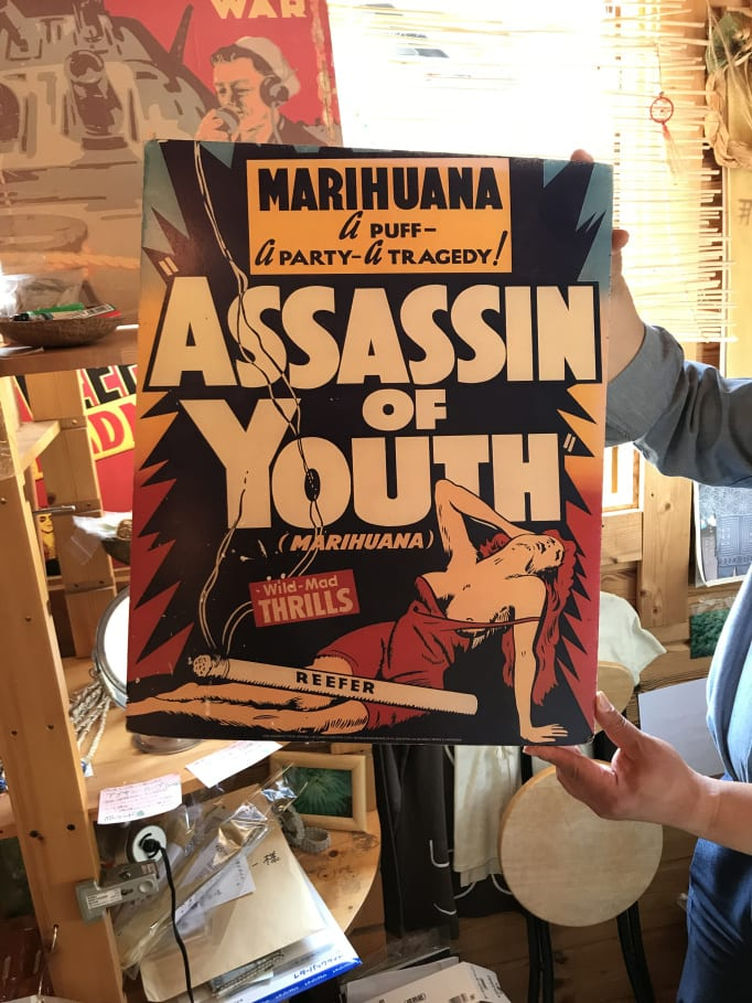 Japan maintains strict anti-weed stance despite public calls and long tradition - Taima reefer madness collection