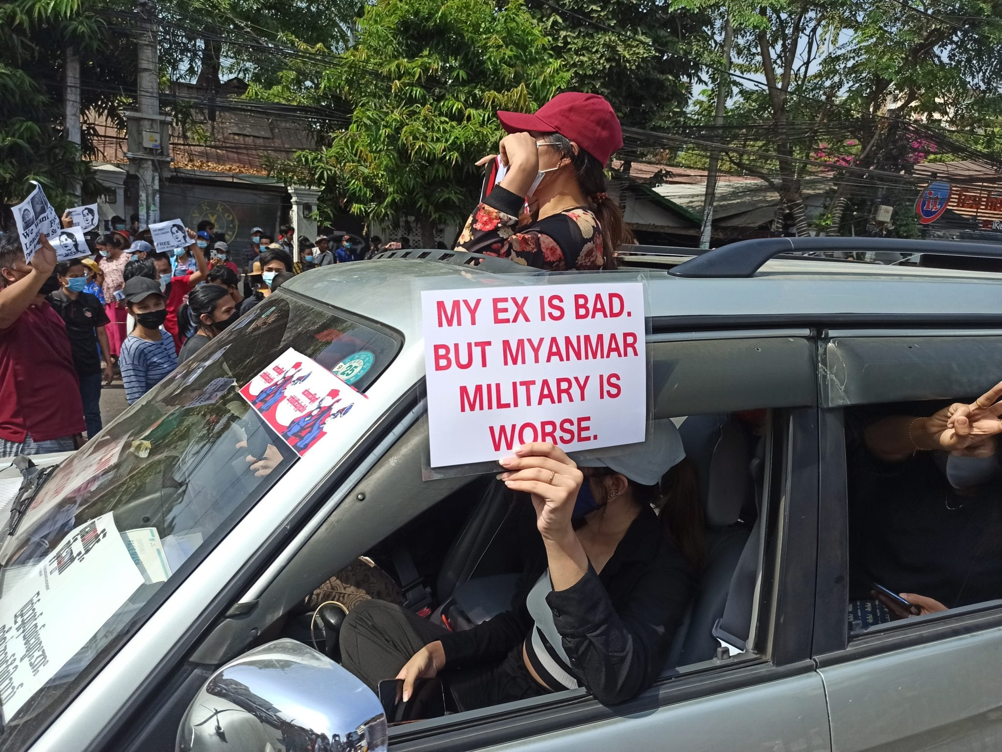 Cannabis advocates at the forefront of Myanmar democracy protests - ex is bad