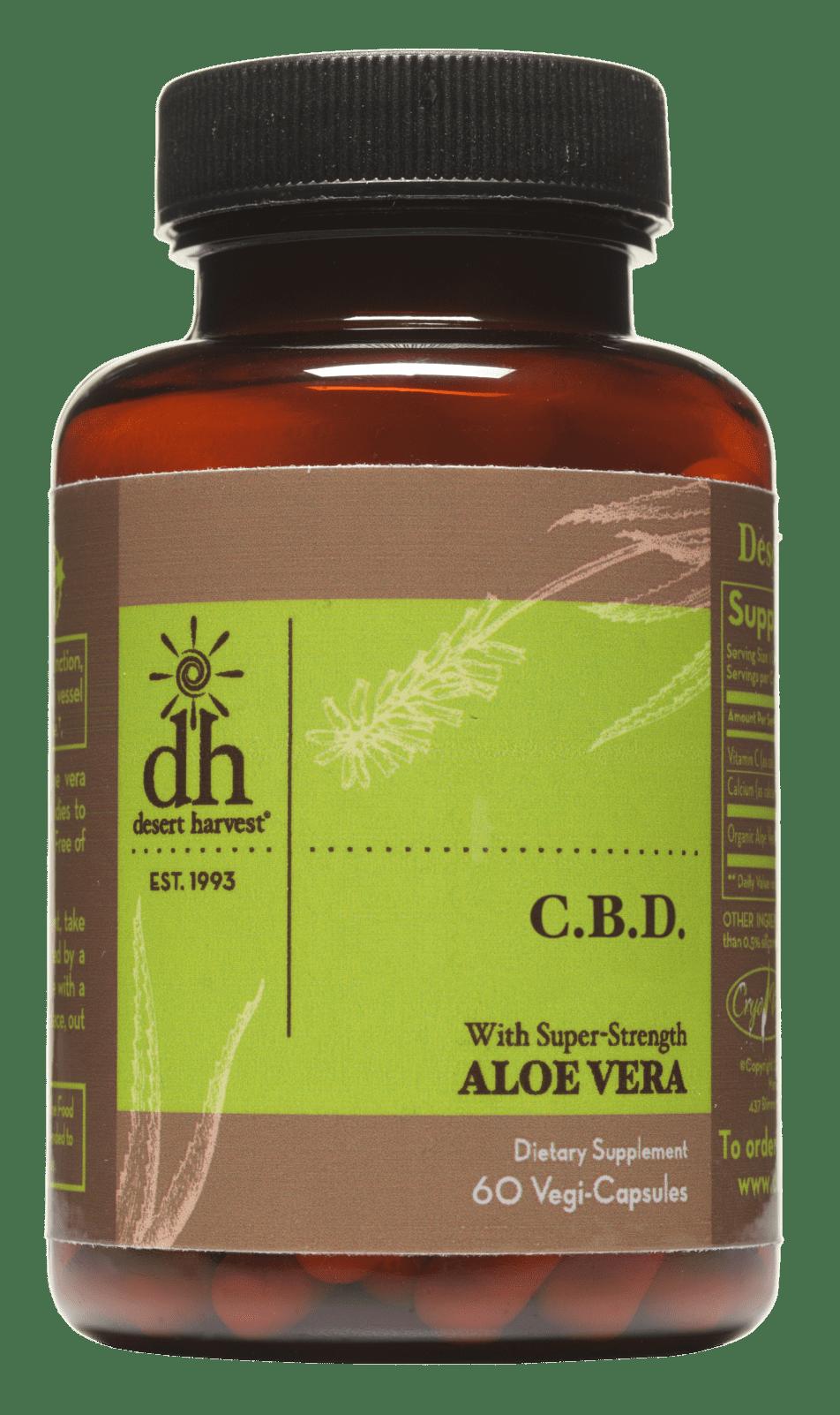 Aloe vera extract producer funds McGill CBD pain research