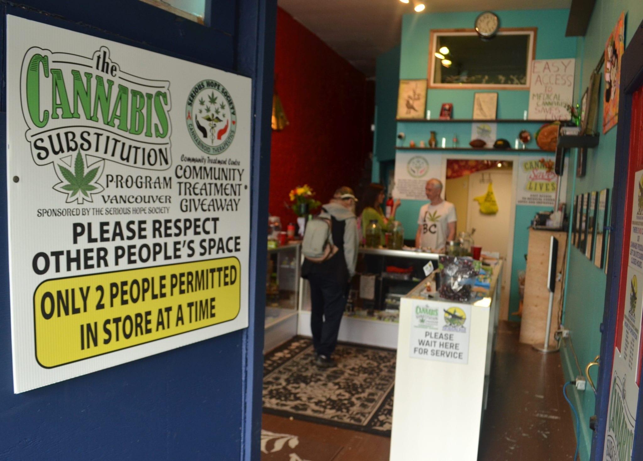 BC health officials lukewarm on cannabis as harm reduction