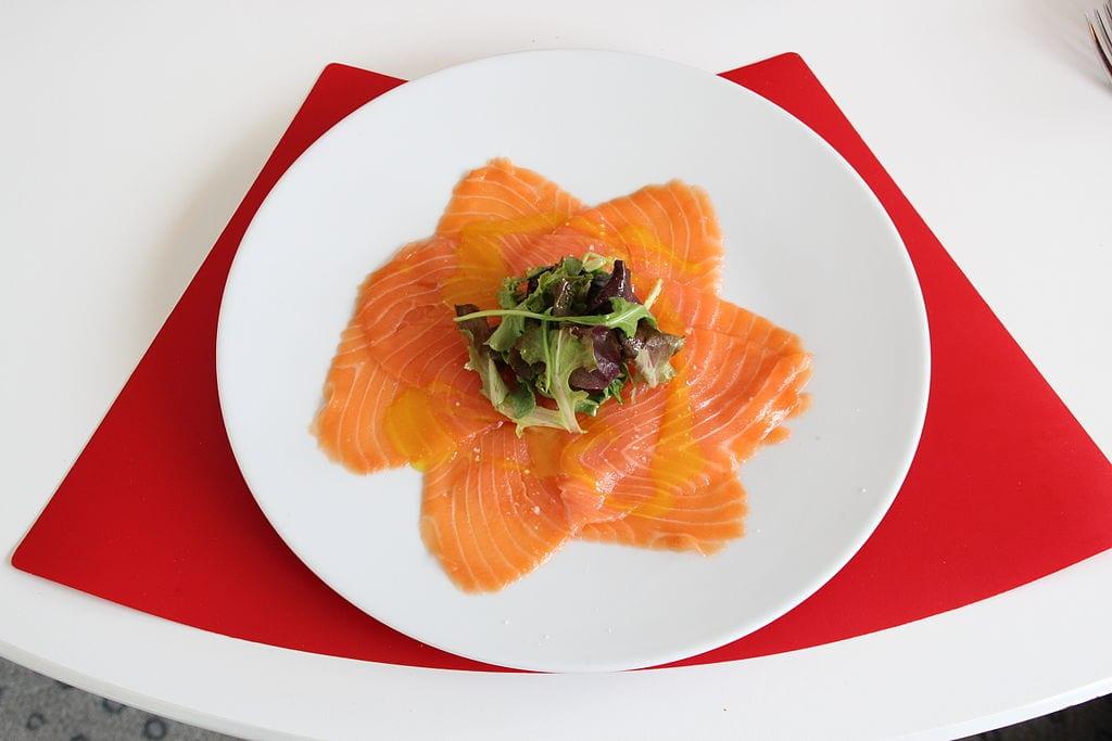 Cannabis-growing salmon is on the menu