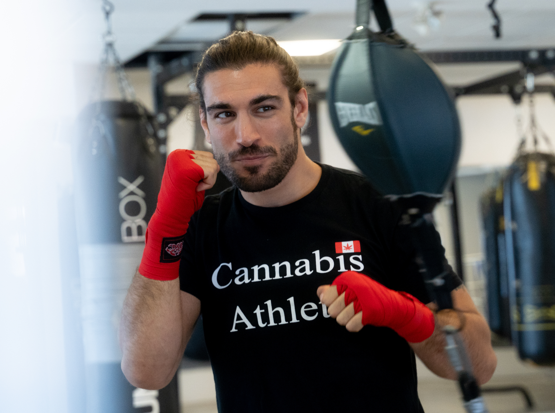 Elias Theodorou wants to K.O. cannabis restrictions for athletes -