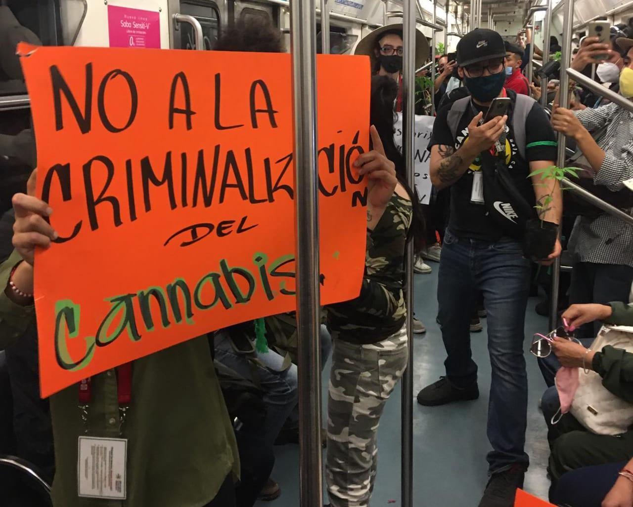 New cannabis bill a massive violation of human rights, Mexican activists say - Mexico City metro