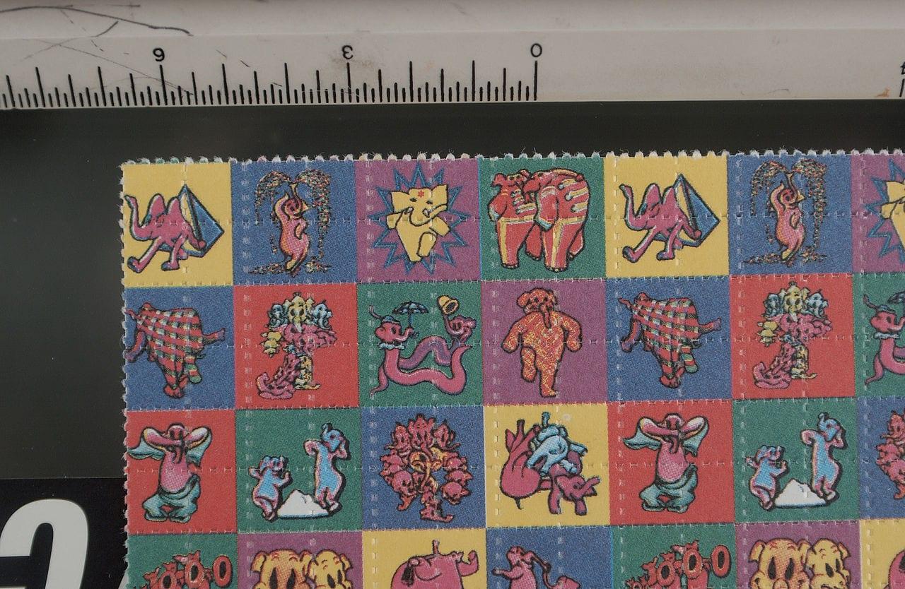 Attend next week's psychedelics legalization debate - LSD blotter