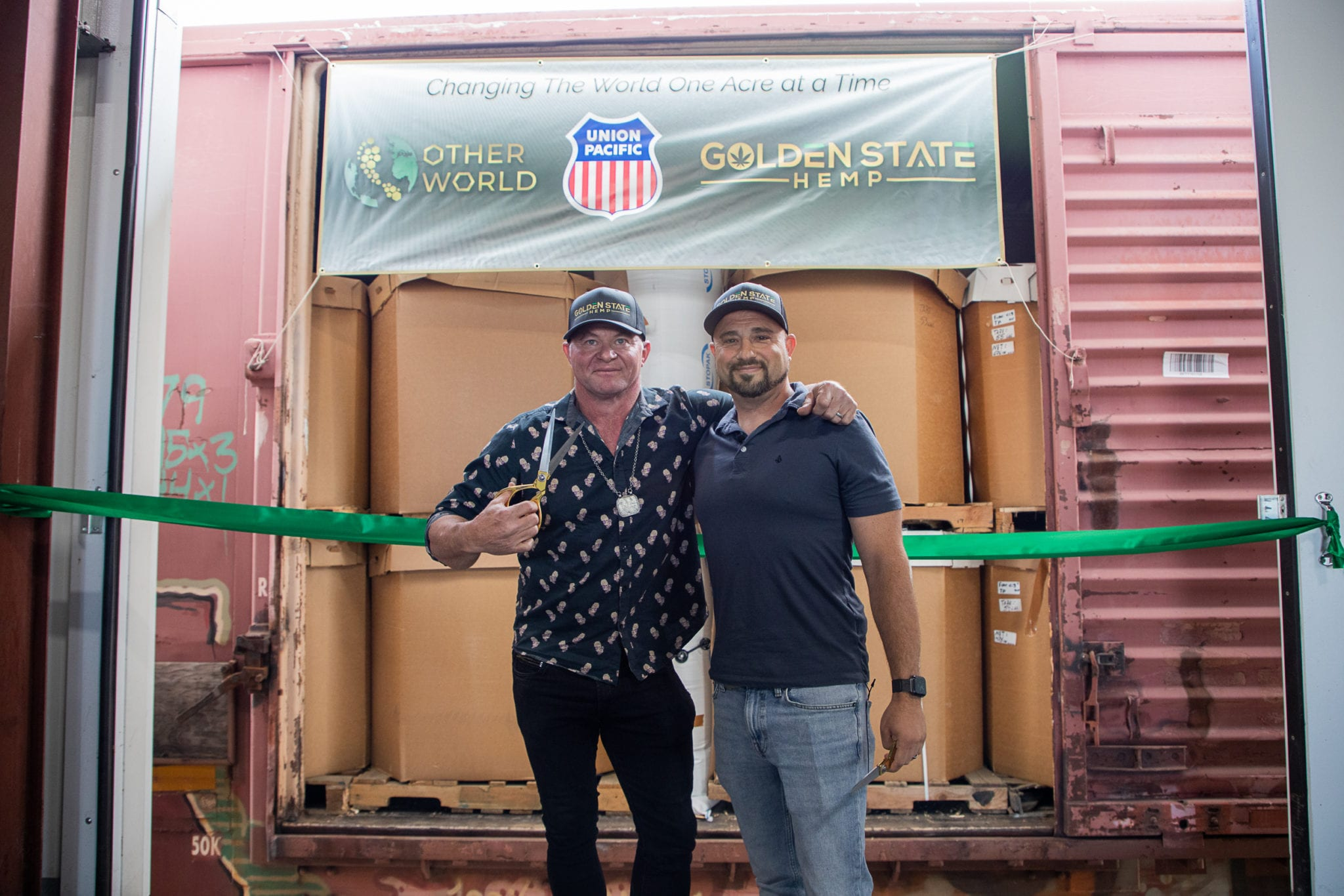 First legal hemp in 84 years crossed US state lines by train on 4/20