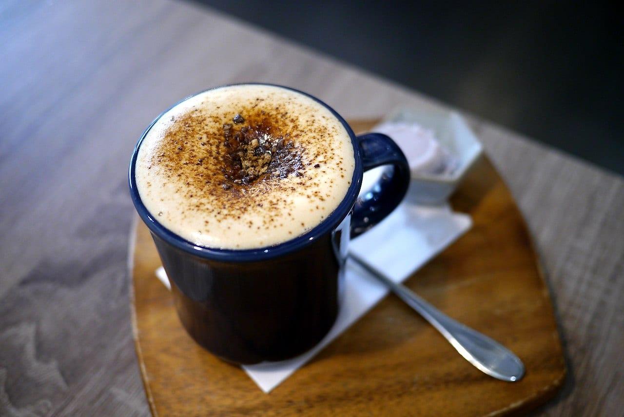 Schedule I tea at the Coca Leaf Café - cocacinno