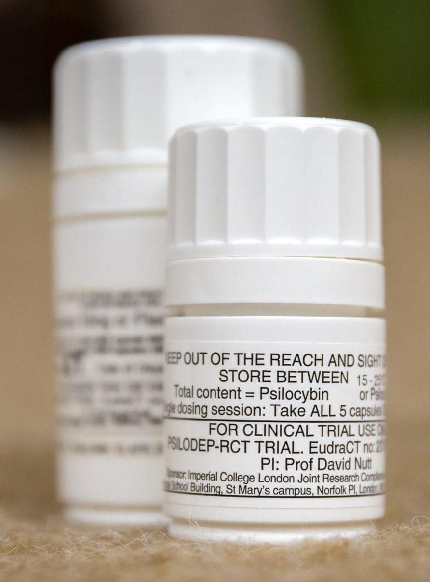 Psilocybin treats depression as well as common antidepressant, study shows