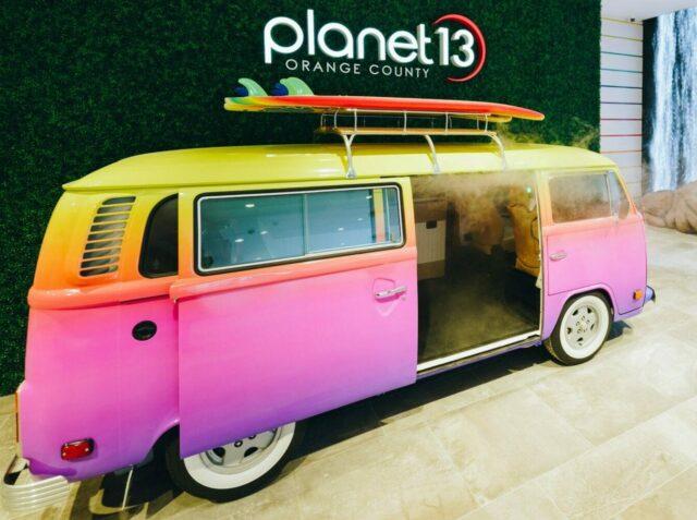 Planet 13 VW van for taking selfies