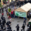 Mexican police 'kettle' weed activists, prevent protest at Supreme Court