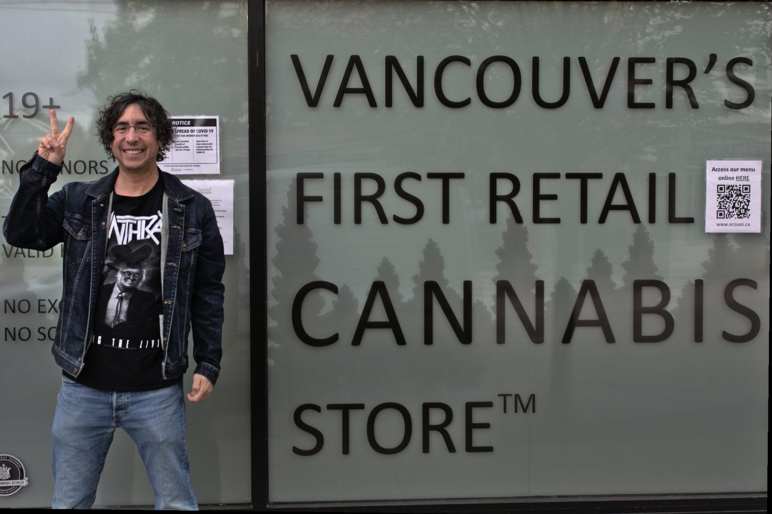 Evergreen Cannabis co-owner Mike Babins
