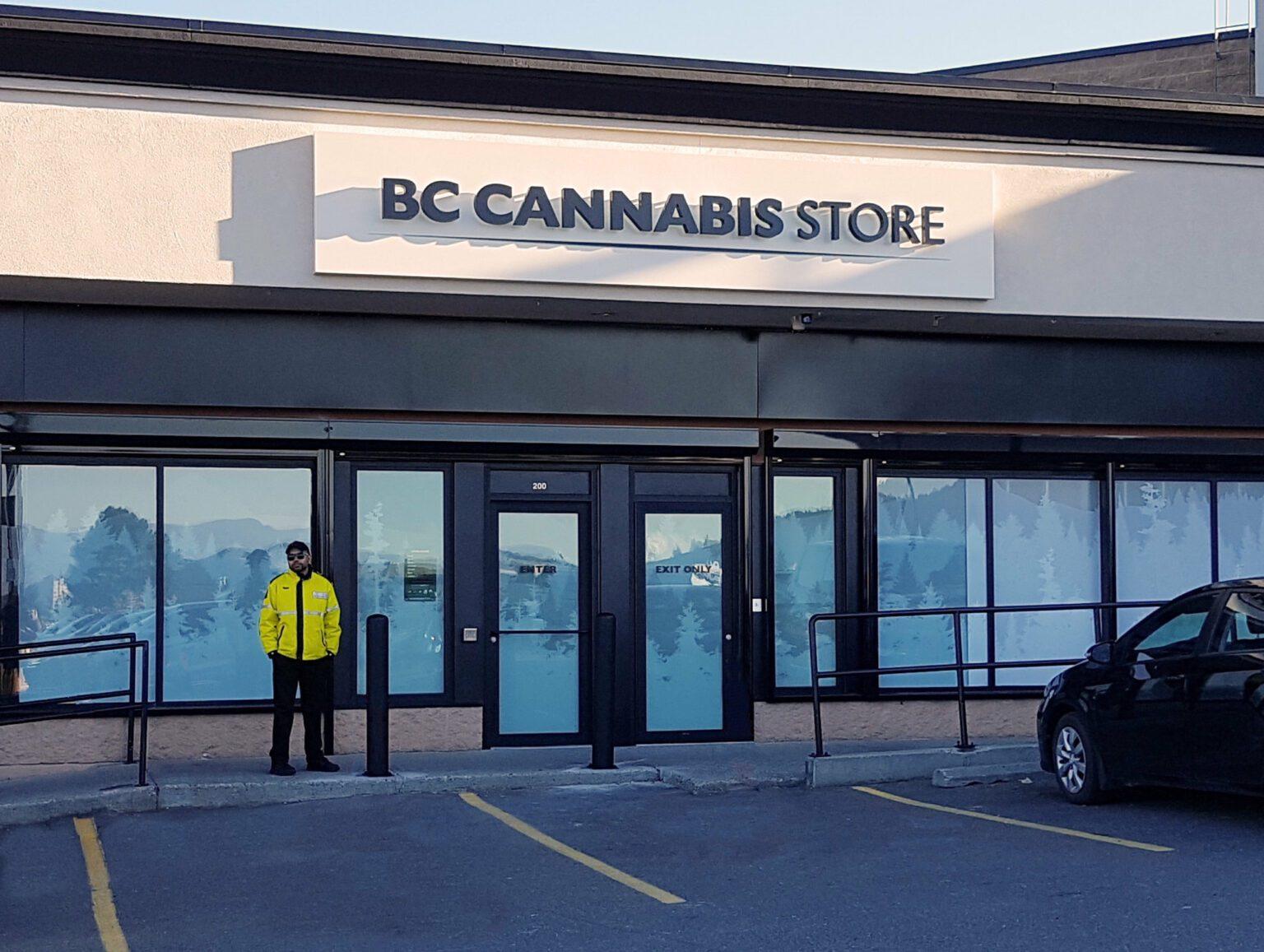 BC cannabis sales data program