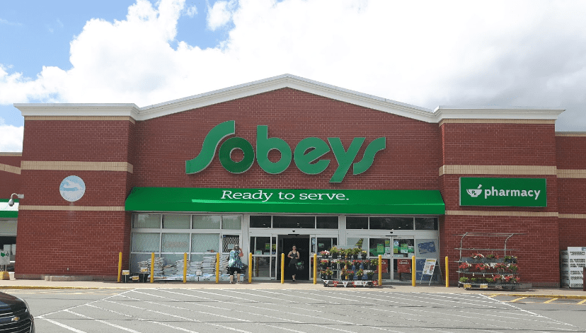 Sobeys grocery store with pharmacy in Maritimes