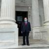 Bill sponsor Rep. Jerrold Nadler outside Congress building